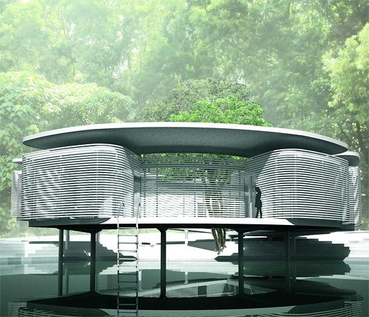 The Rafflesia House by Zoka Zola - Competition Winning Zero Energy Design in Malaysia